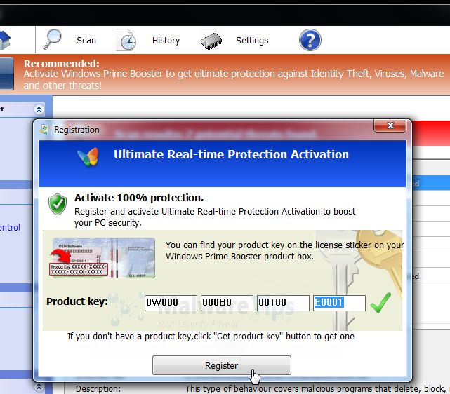 Eliminar Windows Efficiency Kit